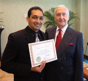 With Dr Shad Helmstetter